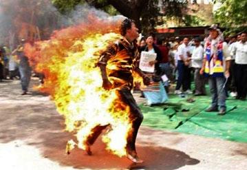 autoimmolazioni in Tibet