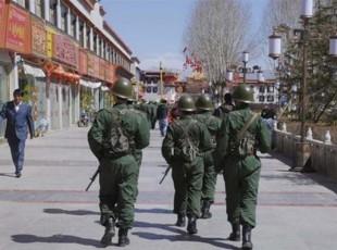 Lhasa presidiata dalle truppe cinesi