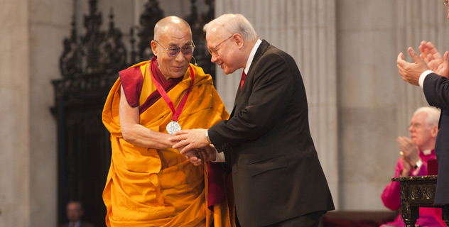 The Dalai Lama 2012 Templeton Prize Winner
