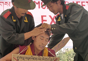 Lhasa: repressone