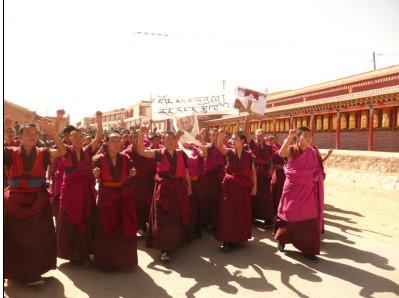tibet monaci