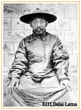 Thubten Gyatso, il XIII Dalai Lama