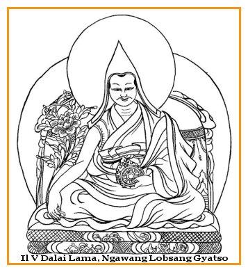 Il V Dalai Lama, Ngawang Lobsang Gyatso,