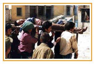 Lhasa 1 ottobre 1987, i tibetani uccisi dalla polizia.