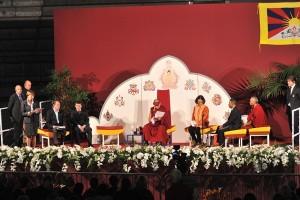Sua Santità il Dalai Lama al Palasport Carnera di Udine