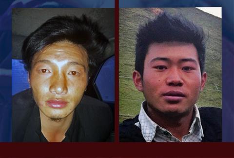 Ngawang Norpel, 22 anni, e Tenzin Khedup, 24 anni, immolatisi per il Tibet.