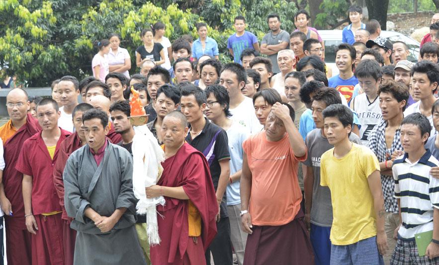 La Fiamma della Verità è giunta a Dharamsala
