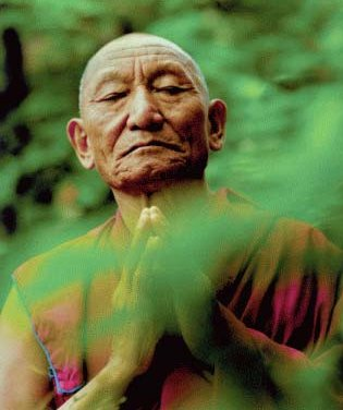 Il monaco tibetano Palden Gyatzo