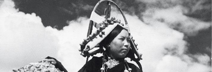La Principessa del Butan, foto di Fosco Maraini 1938