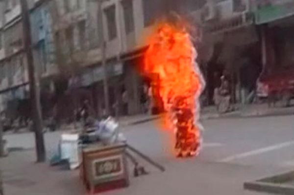 Self-immolation-Tibet