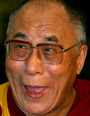 "His Holiness the Dalai Lama: ""In order to lead a meaningful life, you need to cherish others, pay attention to human values and try to cultivate inner peace."""