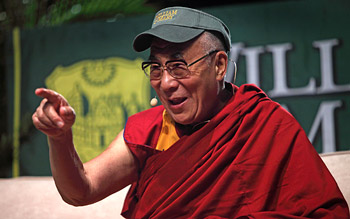 "His Holiness the Dalai Lama: ""Please don't think of the practice of compassion and loving-kindness only as a religious practice; it is a practical way of fulfilling our own interests."""