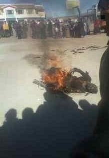 Self immolations of tibetans are now 100.