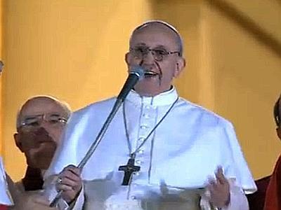 Il nuovo Papa Francesco I, Cardinale Jorge Mario Bergoglio, arcivescovo di Buenos Aires, presidente dei vescovi argentini.