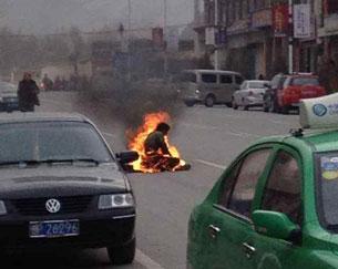 Namla Tzering si autoimmola per il Tibet