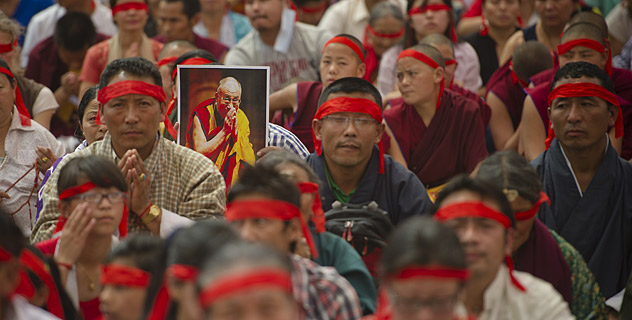 """His Holiness the Dalai Lama: """"The tantric path is referred to as secret and its teachings were only given to select disciples secretly. As far as generating the awakening mind is concerned, there are two main methods, that known as the seven causes and one result and another method known as equalising and exchanging self with others. Shantideva says this latter is the only secret practice to cultivate."""""""