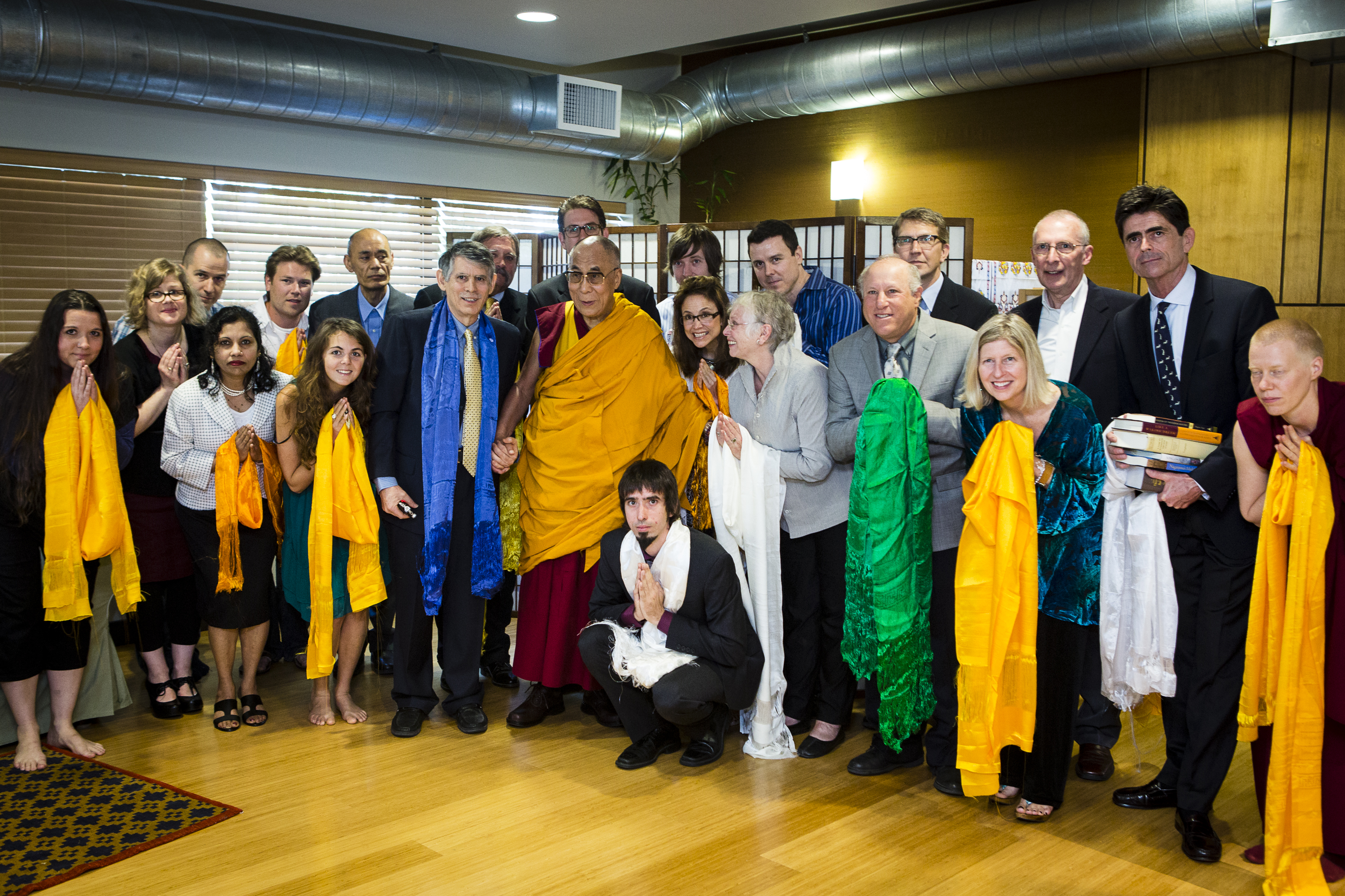 His Holiness visit to FPMT Central Office