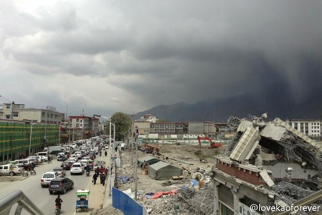La distruzione di Lhasa