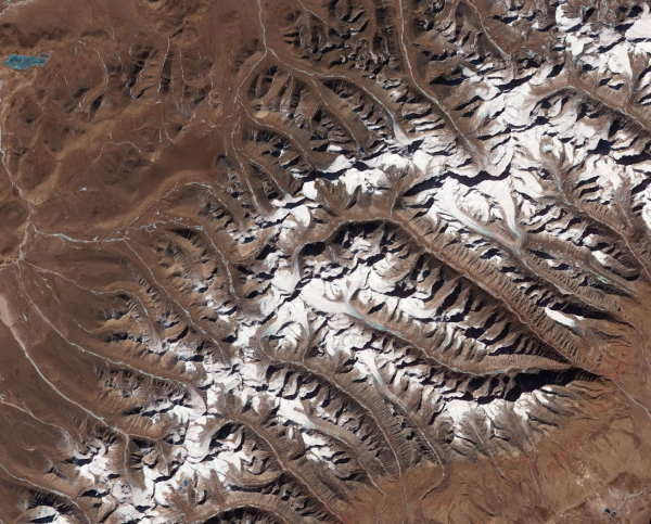 Glaciers on the Tibetan Plateau — the world's third-largest ice reservoir after those in Antarctica and Greenland — have been losing mass even at surprisingly high elevations/NASA Earth Observatory