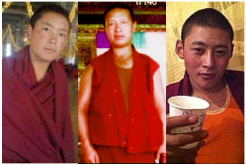 I tre monaci condannati