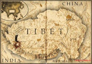 old-map-tibet