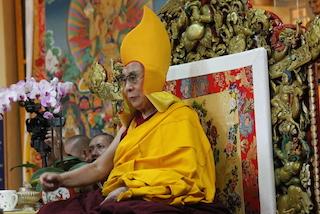 """Sua Santità il Dalai Lama: """"Shugden è uno spirito settario che è bene abbandonare""""."""