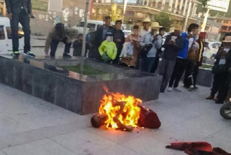 Sonam Topgyal self immolation