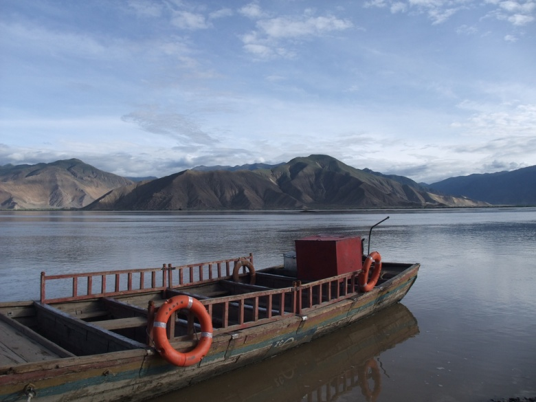 The Brahmaputra originates in Tibet, where it is known locally as the Yarlung Tsangpo.