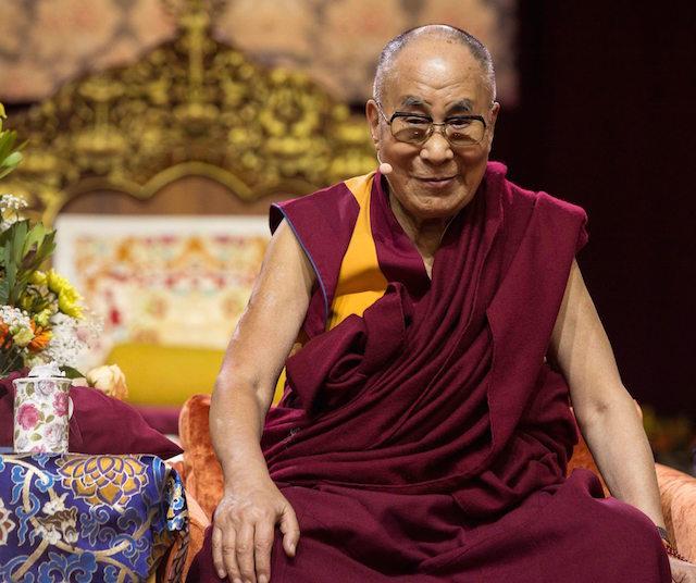 Dalai Lama ha affermato che tutti hanno il diritto di ottenere una vita felice.