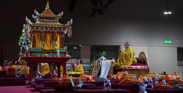 """His Holiness the Dalai Lama: """"I too could be subject to doubt, worry and anger, but I've learned that peace of mind is not just a matter of dullness"""