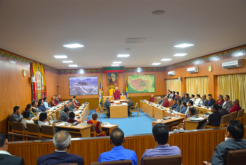 tibetan-parliament-session