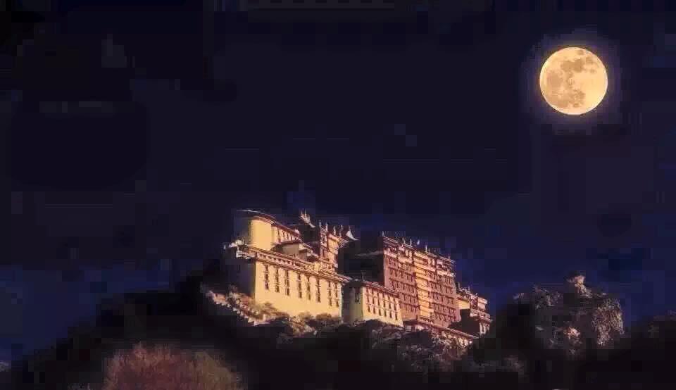 Il Palazzo del Potala residenza per secoli del Dalai Lama