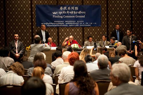 Sua Santità il Dalai Lama alla Conferenza Cina - Tibet