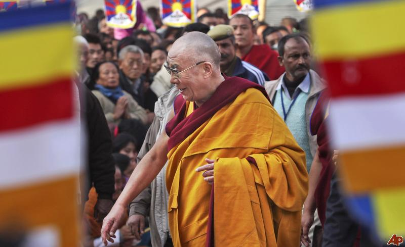 """Sua Santità il Dalai Lama: """"Alla radice del Buddhismo troviamo le quattro nobili verità""""."""