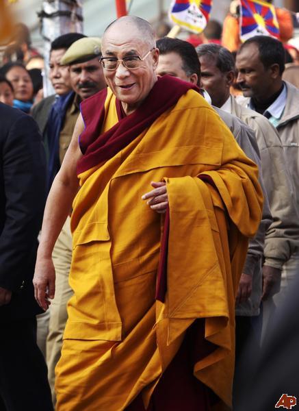"""Sua santità il Dalai Lama: """"Coloro che hanno fede in un Dio creatore possono pensare che siccome il Dio creatore ha creato gli altri proprio come loro stessi, proprio per questo non è corretto danneggiarli""""."""