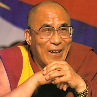 """Sua Santità il Dalai Lama: """"Tutti gli insegnamenti dei grandi maestri sono improntati alla grande compassione""""."""
