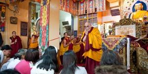 """Sua Santità il Dalai Lama: """"La compassione e l'altruismo sono il motore della felicità""""."""