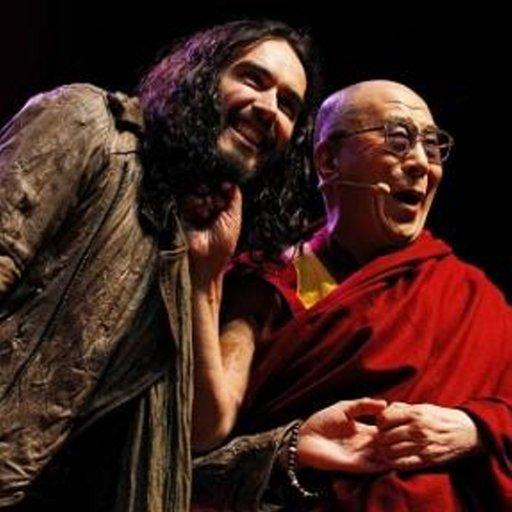 Sua Santità il Dalai Lama con Russell Brand