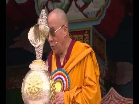 "His Holiness the Dalai Lama: ""When laxity, lethargy or excitement are setting in we need to be aware of this and use vigilance to prevent them developing""."