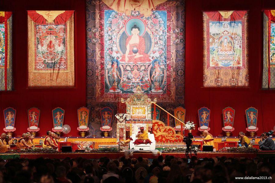 Sua Santità il Dalai Lama: Il punto principale è pacificare la mente altrimenti non c'è spazio per il Dharma.