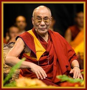 Sua Santità il Dalai Lama:Alcuni non hanno molta fede nell'insegnamento del Buddha, ma se ne interessano in modo puramente accademico