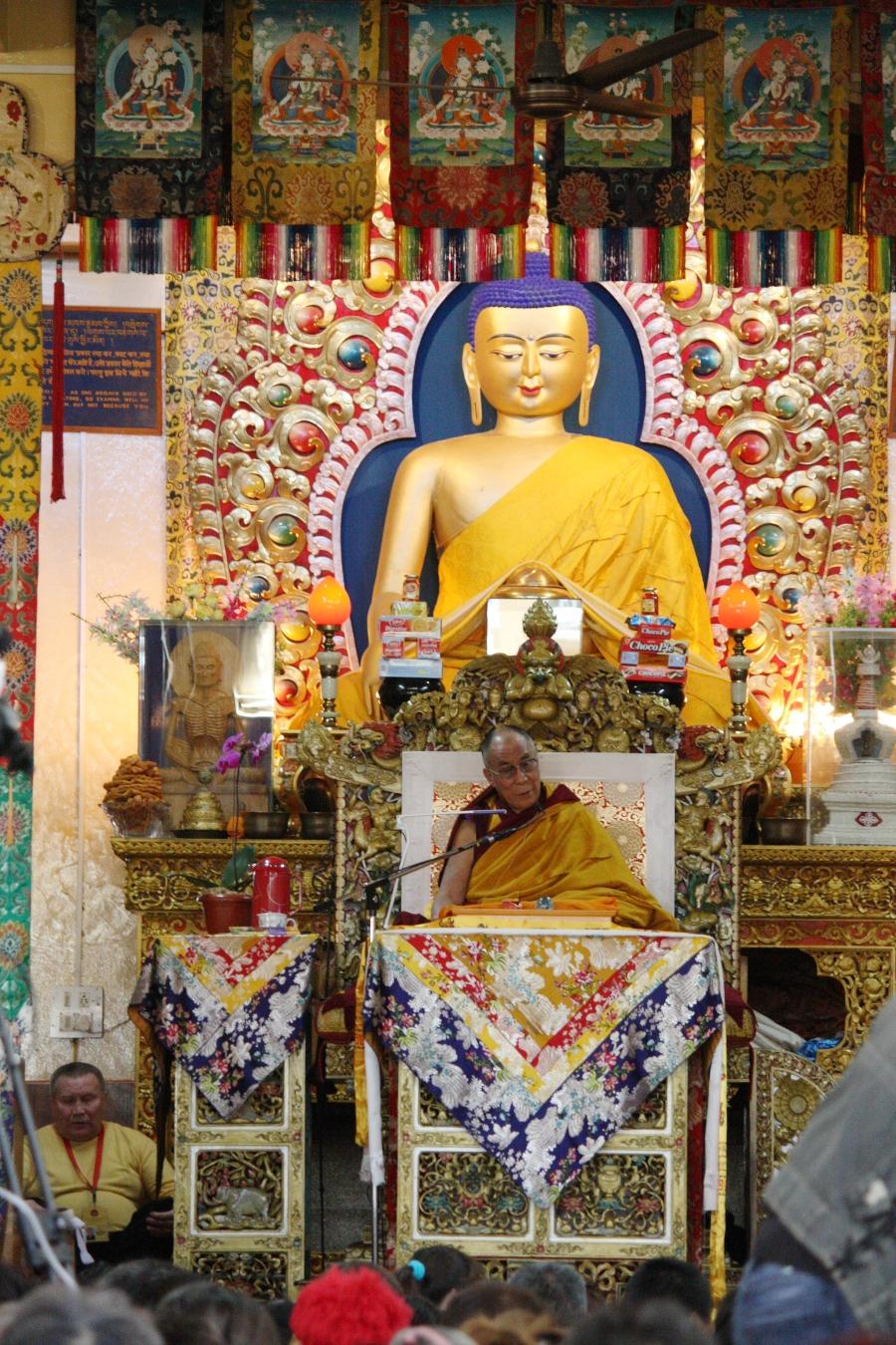 Sua Santità il Dalai Lama: Tramite la calma mentale e la visione profonda, conseguono le esperienze meditative e la realizzazione interiore, dando vita così allaconoscenza teorica che senza di essi manterrebbe un carattere un po' mitico o artificiale. Non posso fare altro che incoraggiarli.