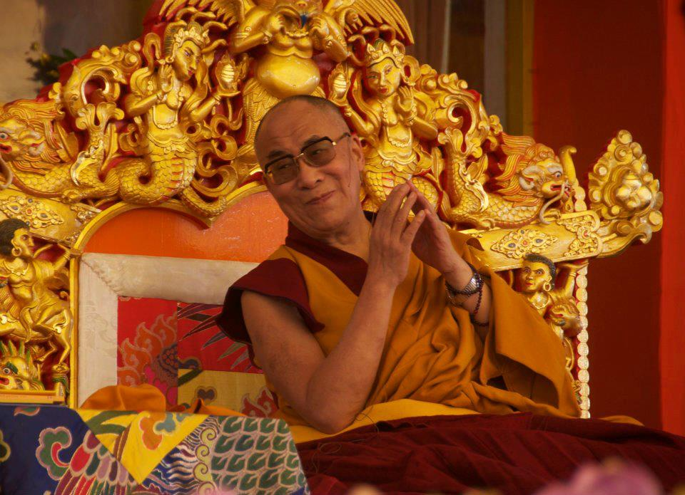 Sua Santità il Dalai Lama: Si deve dire la verità, e può fare del bene anche se viene espressa con parole dure.
