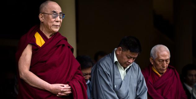 Sua Santità il Dalai Lama: L'amore è il mezzo estremo per trasformare gli esseri anche quando sono pieni di collera e di odio.