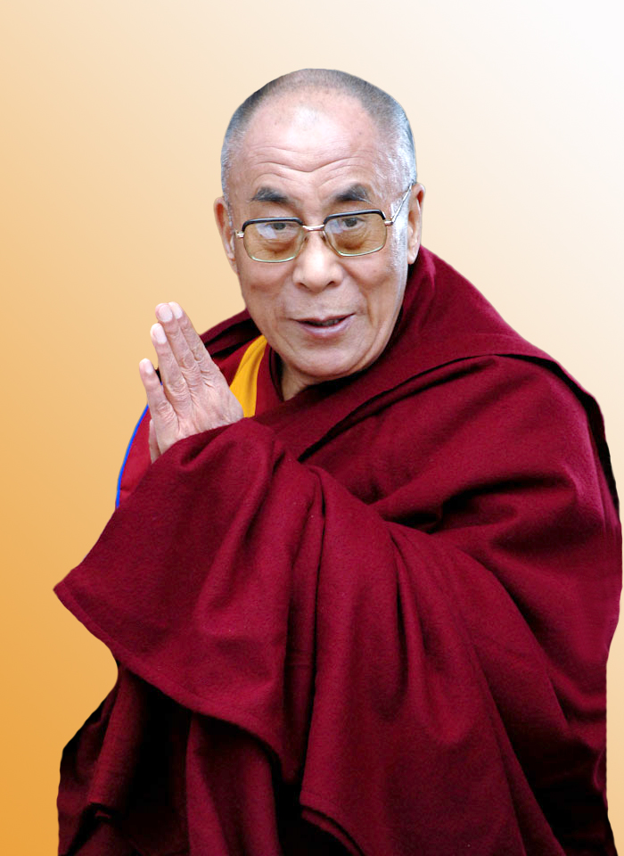 His Holiness the Dalai Lama: When those in whom we hope in or trust respond to our help and compassion with negativity we should view them as our spiritual teacher.