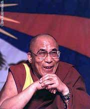 Sua Santità il Dalai Lama: saggezza della vacuitàdà luogo alla realizzazione dellagrande compassioneverso tutti gli esseri senzienti.