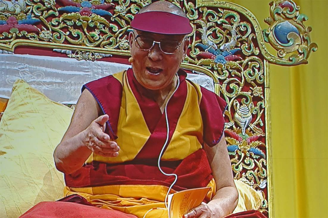 His Holiness the Dalai Lama: We need to follow the teachings of Buddha as it was taught by the Indian masters.