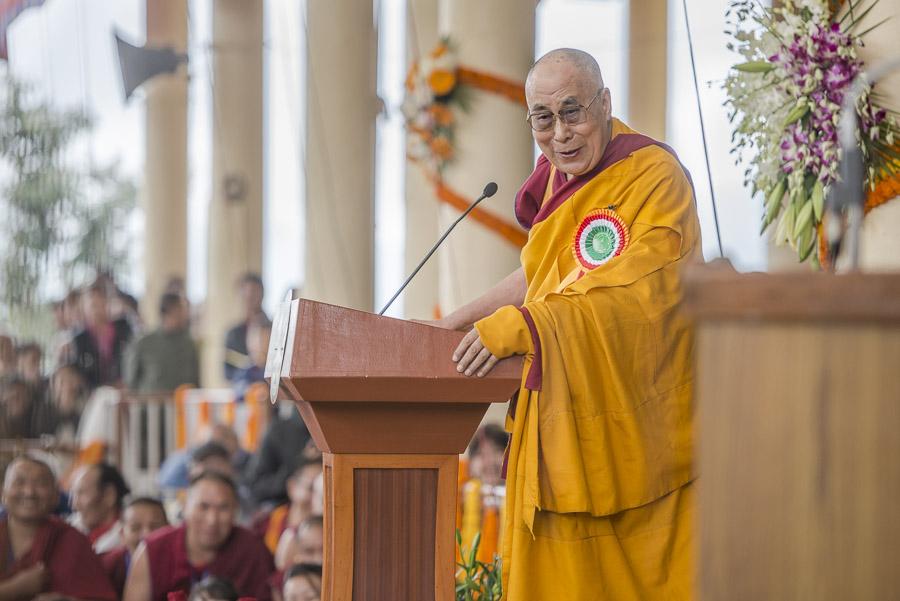 S.S. il Dalai Lama: Da piccolo ricevetti questo ciclo da Taktra Rinpoce.