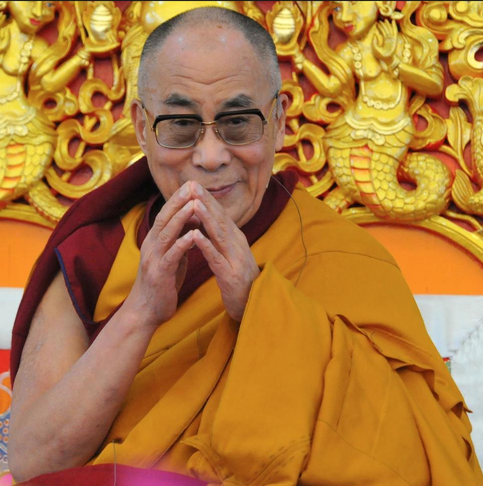 Sua Santità il XIV Dalai Lama: Ho profondo rispetto per tutte le tradizioni religiose non buddiste, e mi rallegro della loro esistenza.