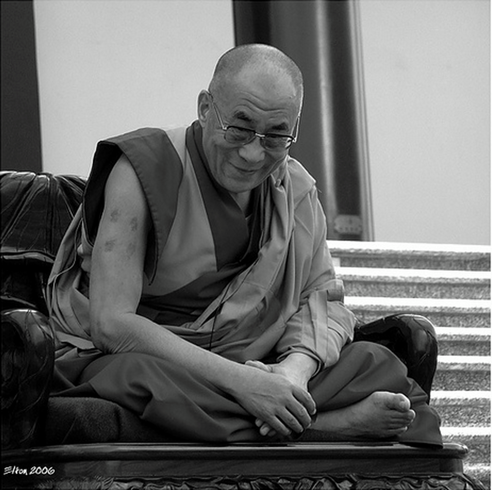 His Holiness the Dalai Lama: So that's the way to improve oneself.